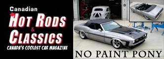 No Paint Mustang - Canadian Hot Rod Classics Article