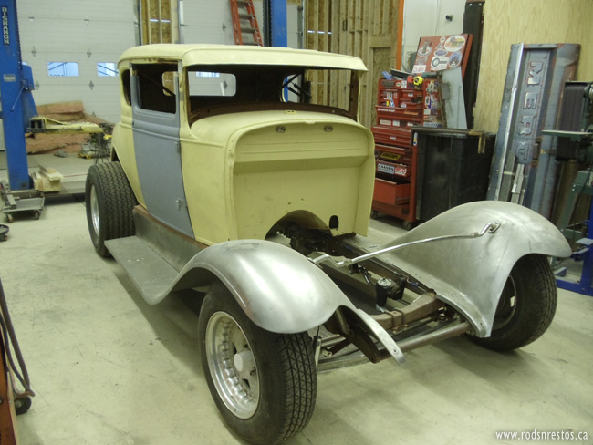 View Project: 1931 Model A Ford Coupe